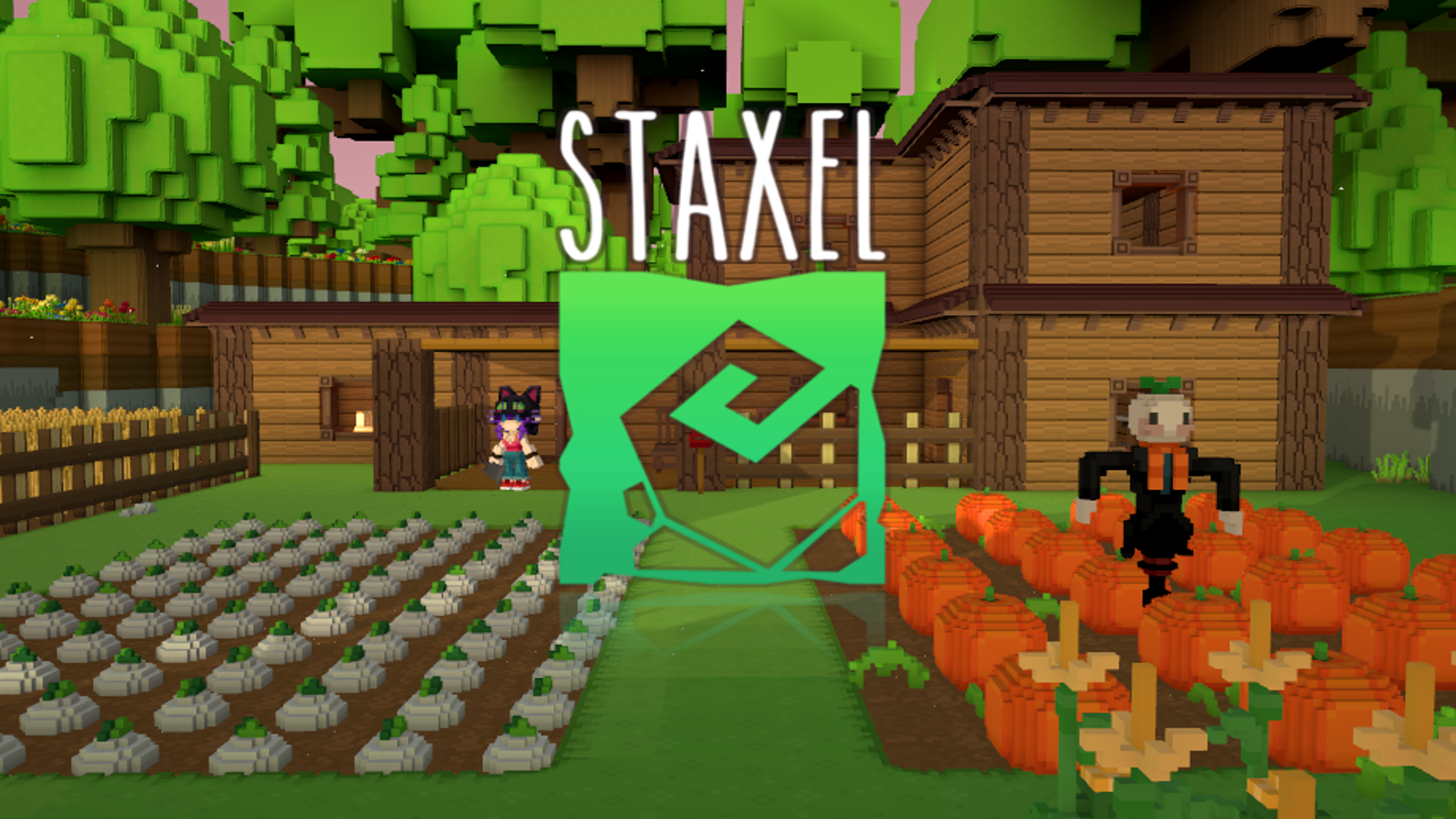 Staxel - A Multiplayer Farming Game For PC